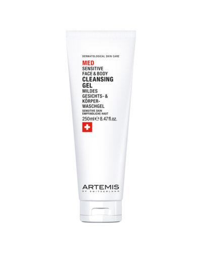 Artemis Med Sensitive Face & Body Cleansing Gel, mildes Gesichts- & Körperwaschgel