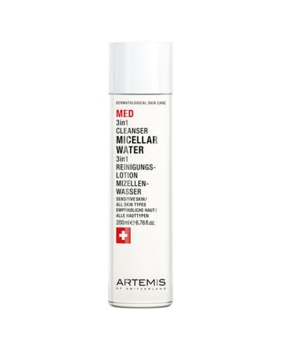 Artemis Med 3in1 Cleanser Micellar Water, 3in1 Reinigungslotion Mizellenwasser
