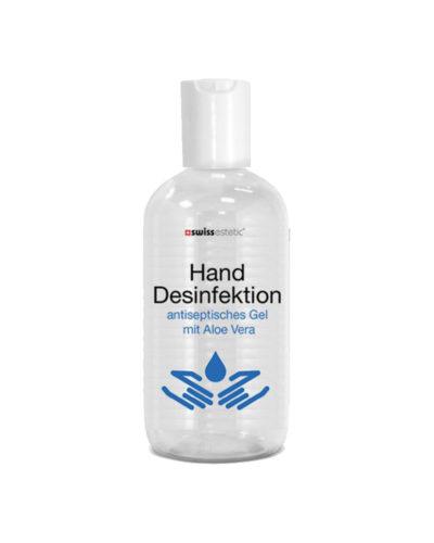 Hautschonende Hand Desinfektion, antiseptisches Gel mit Aloevera