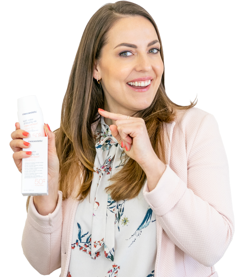 Tina Koch kosmedik mit Sonnenschutz / Sonnencreme